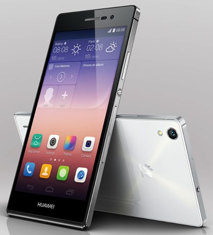 Huawei Ascend P7 with Emotion UI 2.3 Available Online in India at Rs 27999