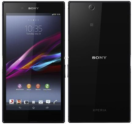 Sony Xperia Z Ultra with Snapdragon 800 now Available for 19,990 INR